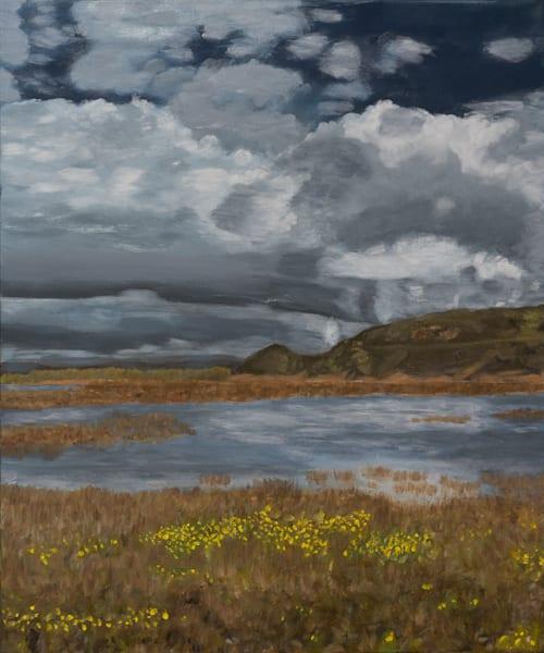 Santa Ynez Estuary-Landscape Painting