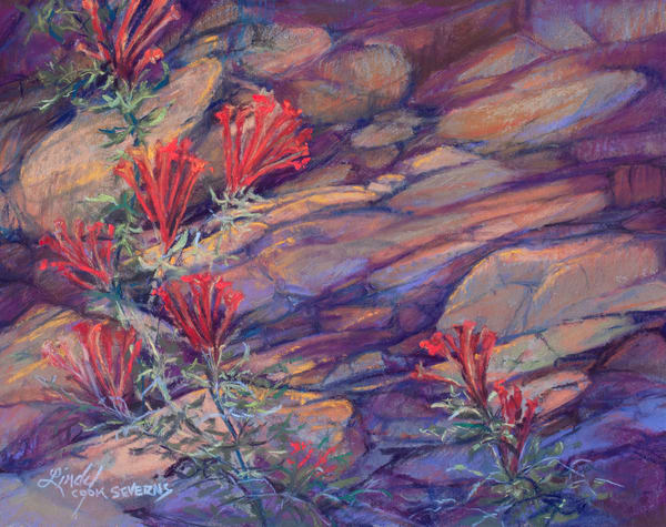 Lindy Cook Severns Art | Blooming Where Planted, print