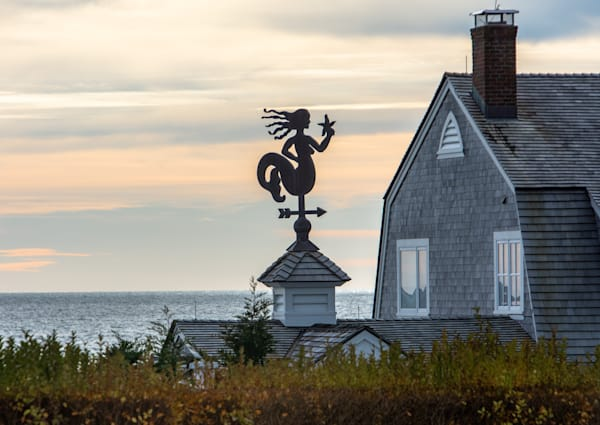 Mermaid On Nantucket Sound Photography Art | The Colors of Chatham