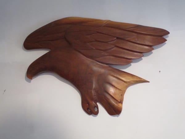 Hunting Eagle Wall Carving Art | treshamgregg - spiritart