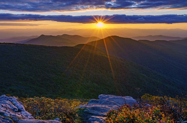 Craggy Pinnacle Sunset Three Fine Art Print Art | McClean Photography