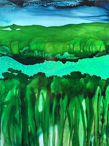Evening Layers 2, Original Art | Sandy Smith Gerding Artwork