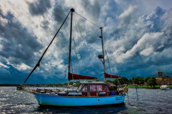 Storm over Palatka - Sailboat fine-art photography prints
