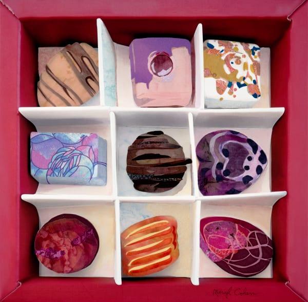 Life Is Like A Box Of Chocolates Art | Meryl Cohen Art