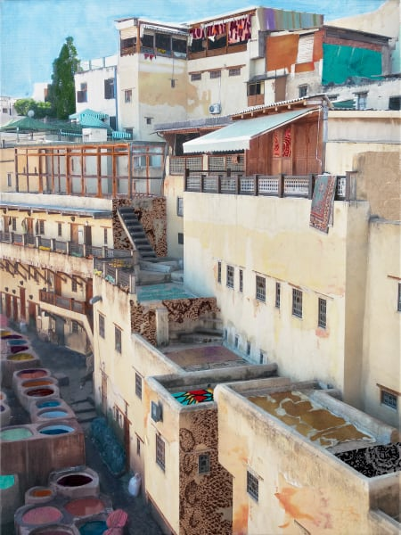 Morocco Art | Meryl Cohen Art