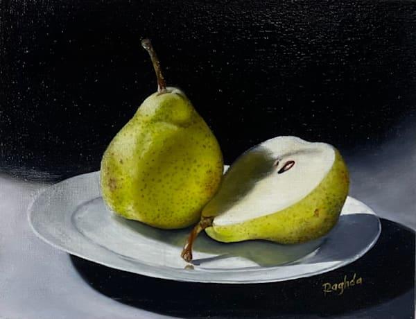 Still Life   Pears Art   thecalliart