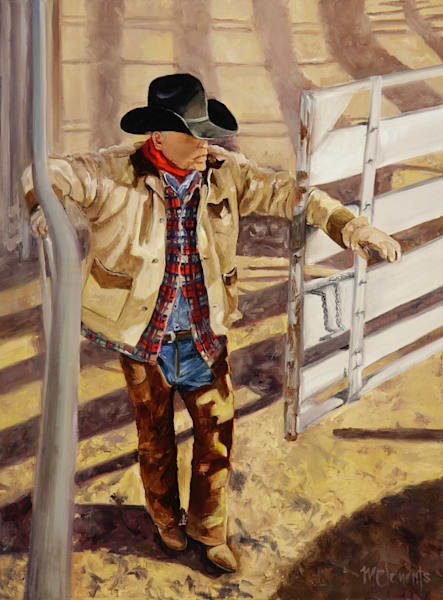 He's An Old Cowhand Art | Marsha Clements Art