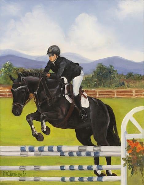 Santa Fe Jumper Art | Marsha Clements Art
