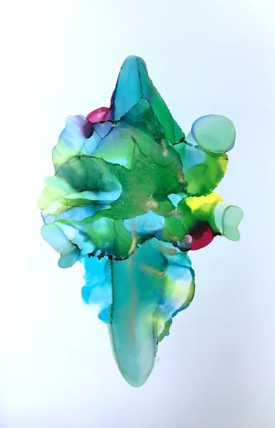 Flora Reflection, Original Art | Sandy Smith Gerding Artwork