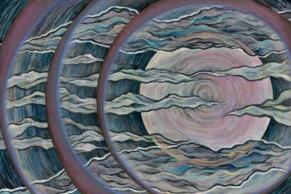 Full Moon Art | Kim P. Bartholomew