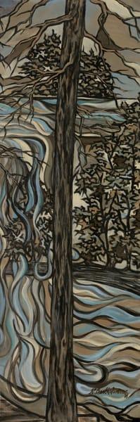 Misty Trees 2 Art | Kim P. Bartholomew