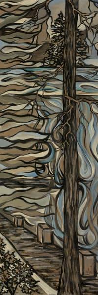 Misty Trees 1 Art | Kim P. Bartholomew