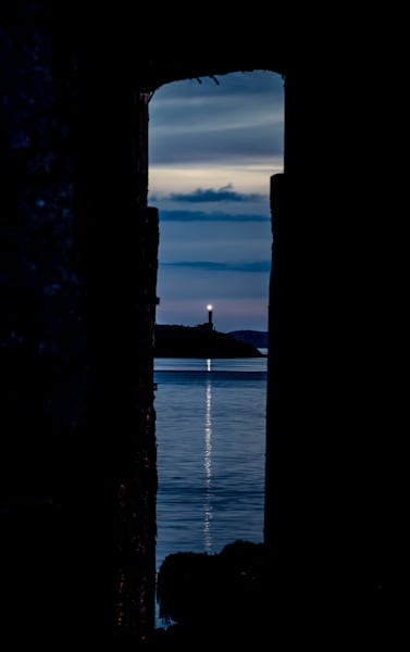 Pier Framed Lighthouse Art | Full Fathom Five Gallery