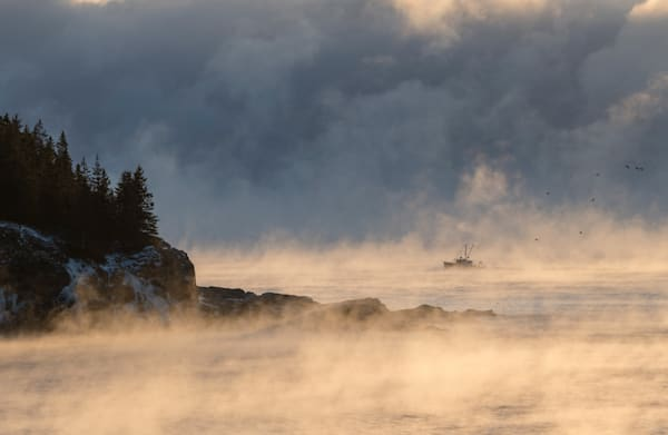 Sea Smoke Fishing