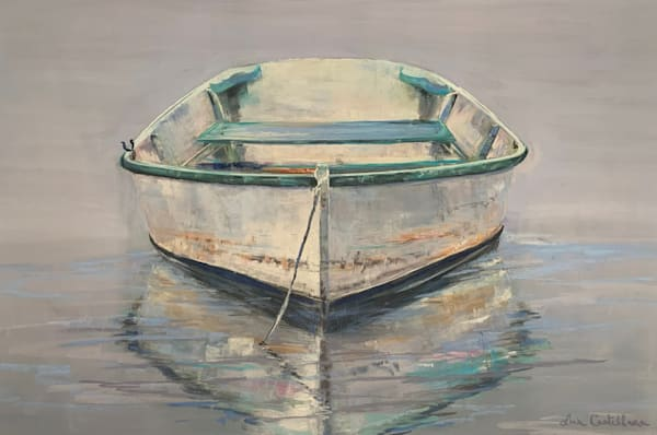 Mill Pond Dinghy Photography Art | The Colors of Chatham