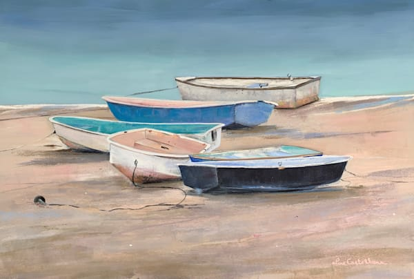 Bridge Street Dinghies Photography Art | The Colors of Chatham