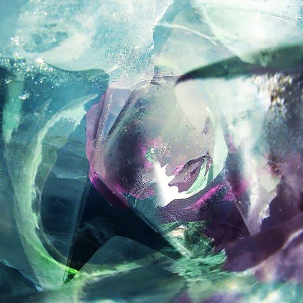 Circular Teal Photography Art | Kathleen Messmer Photography