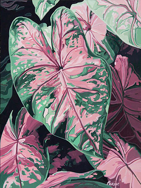 Giant   Acrylic On Panel Art | Patrick M. Parise