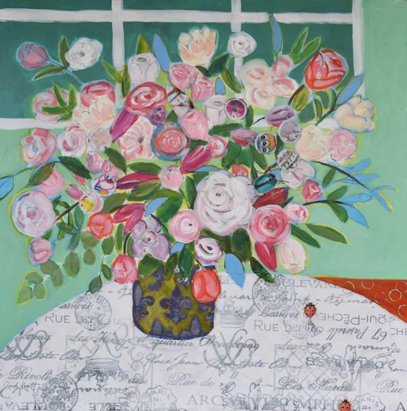 Fleur De Lis  Art | KnottJust Art