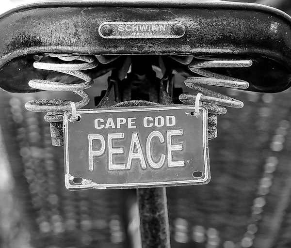 Cape Cod Peace   B&W   Chatham, Ma Photography Art | The Colors of Chatham
