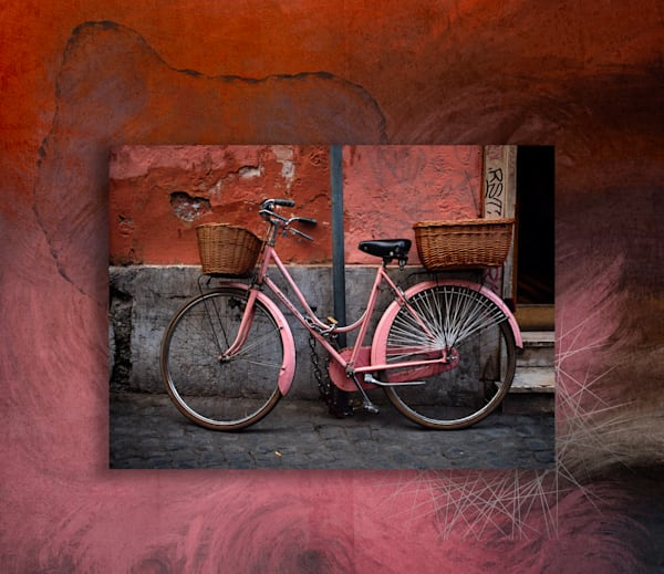 Bike In Abstractia Art | Karen Hutton Fine Art
