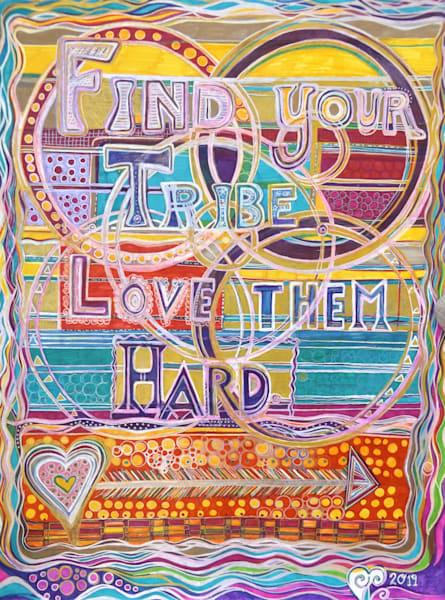Find Your Tribe Art | Cynthia Christensen Art
