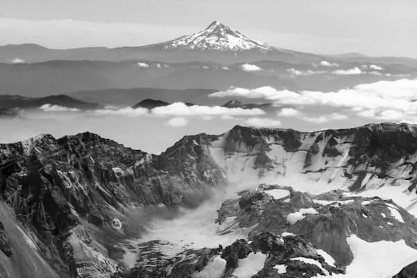 Caldera Mount St Helens Art   Light Pixie Studio