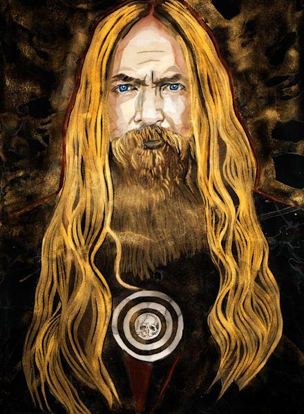 Zakk Wylde Art   William K. Stidham - heART Art