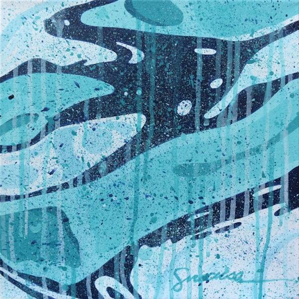 Nastri D Acqua 2021 Canvas 4 Art | juliesiracusa