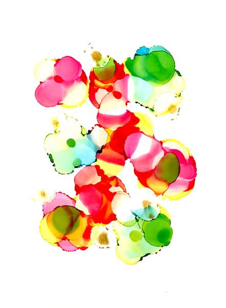 Cellophane Flowers Art | Sandy Smith Gerding Artwork