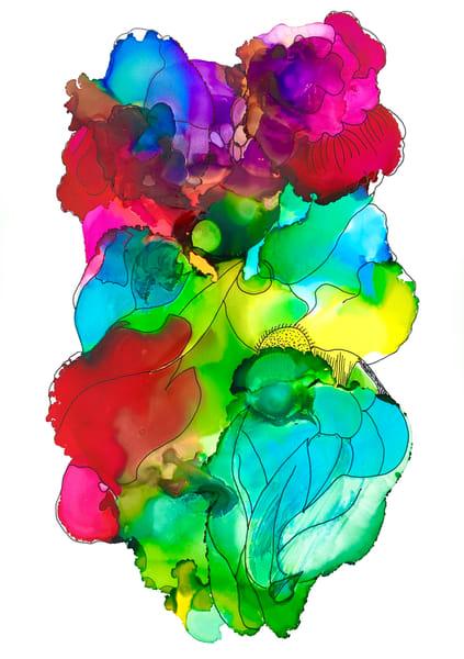 Bouquet 6 Art | Sandy Smith Gerding Artwork