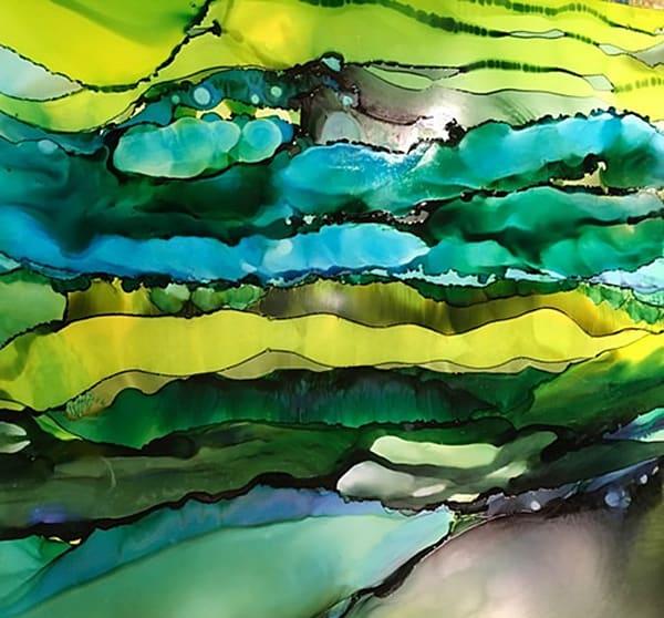 Fundamental Loaming, Original Art   Sandy Smith Gerding Artwork