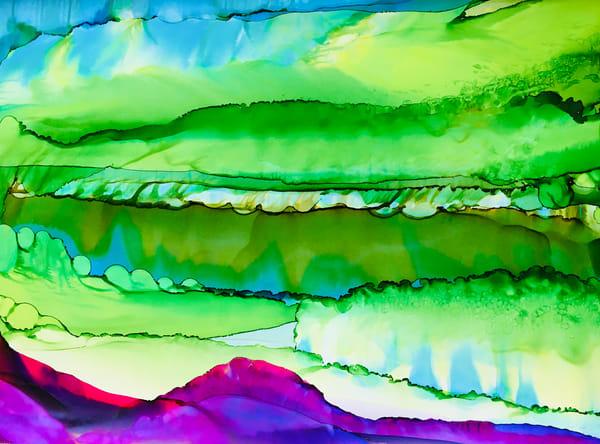 Held By Fuschia Art | Sandy Smith Gerding Artwork