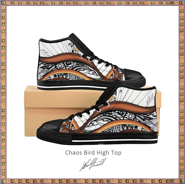 Chaos Bird Unisex High Top Sneakers