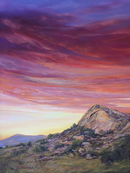 Lindy Cook Severns Art   Rich Promise of a New Day, print