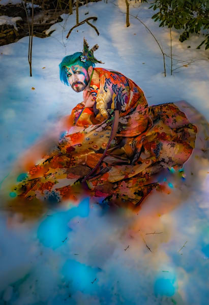 Kimono Melt Photography Art   Cid Roberts Photography LLC