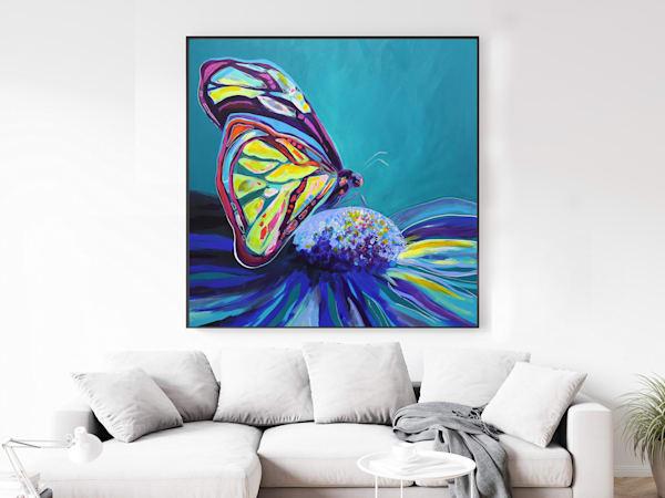 butterfly art, butterflies, butterfly painting, vibrant butterfly