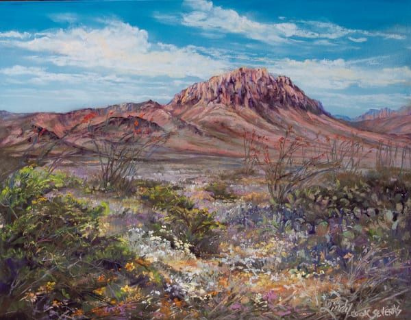 Lindy Cook Severns Art | Scents of the Desert, print