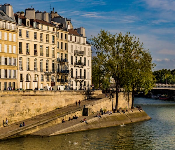 Morning On The Seine, Paris Photography Art | Ben Asen Photography