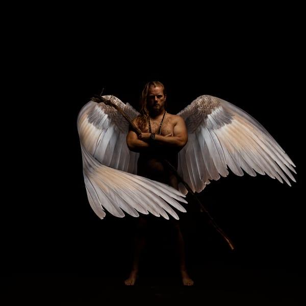 Jeremy Wrapped in Wings