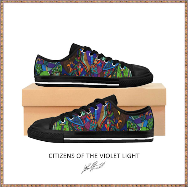 Citizens Of The Violet Light Low Tops