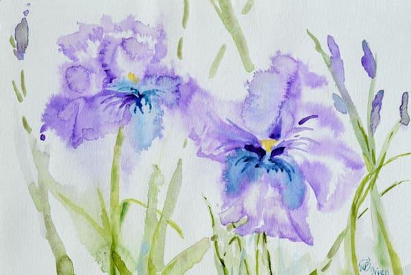 Floral Dance Partners  Art   Color Splash Ranch