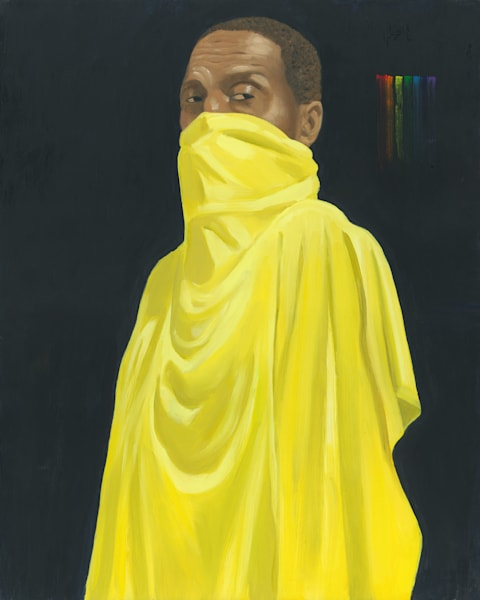 Marsha Carrington original LGBTQ figurative painting