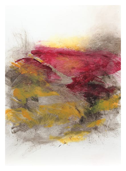 Uphill Ascent - Original Abstract Painting | Cynthia Coldren Fine Art
