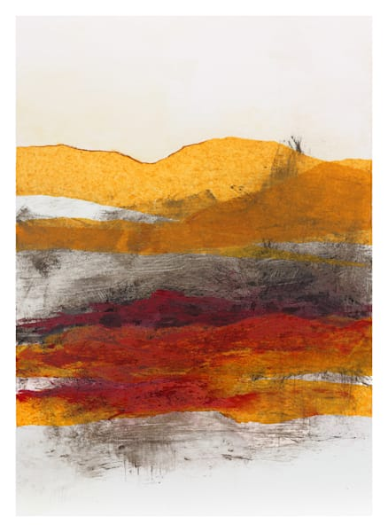 Distant View - Original Abstract Painting | Cynthia Coldren Fine Art