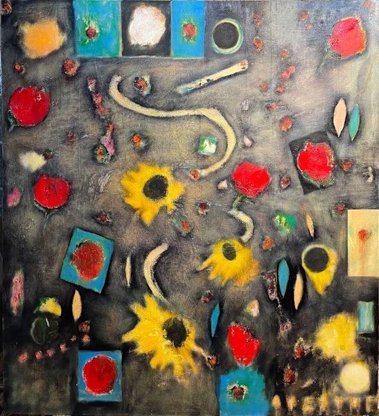 Big Bang Bouquet Art | Adam Shaw Gallery