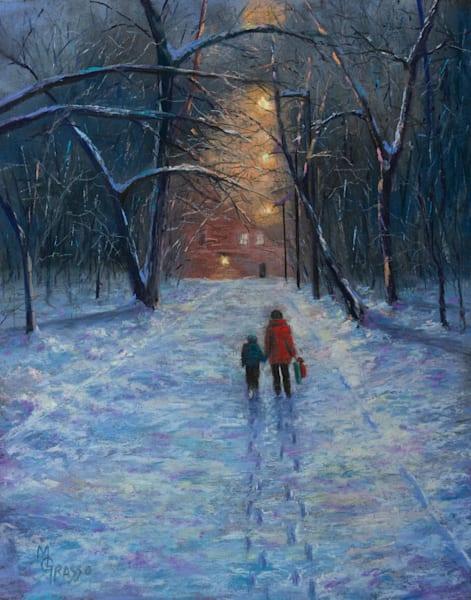 Homeward Bound   Original Art   Mark Grasso Fine Art
