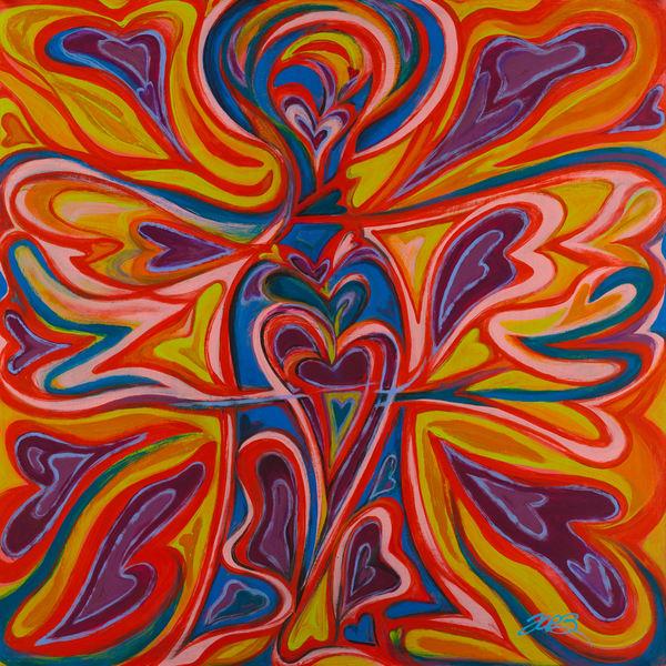 Angels   Joy Explosion Art | Kim P. Bartholomew
