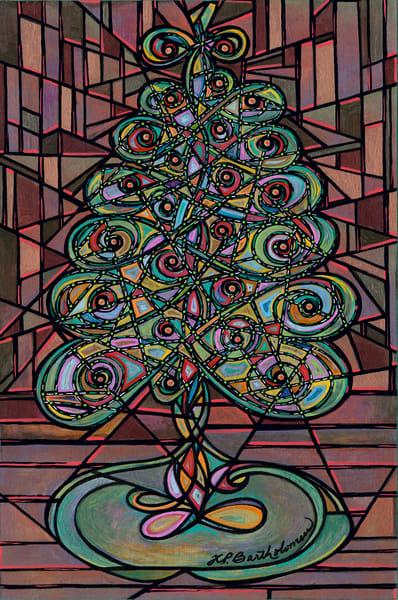 Twinkly Tree Art | Kim P. Bartholomew