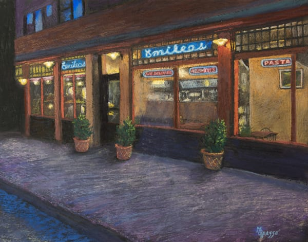Pasta Night Art | Mark Grasso Fine Art